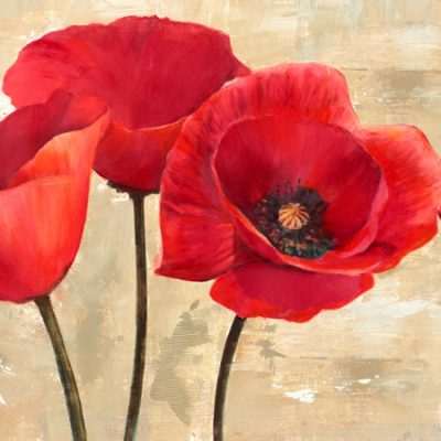 Cynthia Ann – Red Poppies (detail)
