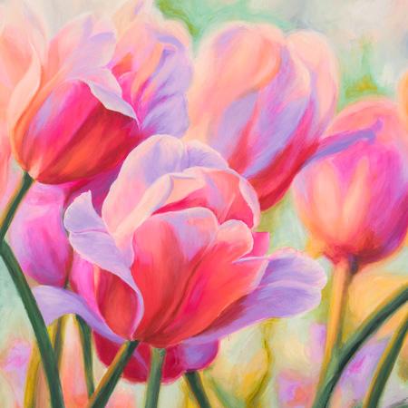 Cynthia Ann - Tulips in Wonderland I