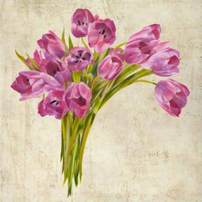 Leonardo Sanna – Bouquet de Tulipes