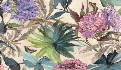 Eve C. Grant - Hydrangeas Panel