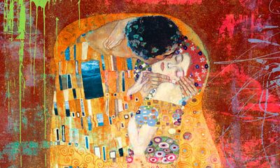 Eric Chestier – Klimt's Kiss 2.0 (detail)