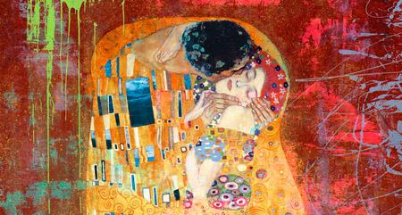 Eric Chestier - Klimt's Kiss 2.0 (detail)
