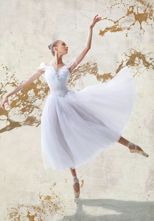 Teo Rizzardi –  White Ballerina