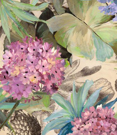Eve C. Grant - Pink Hydrangeas