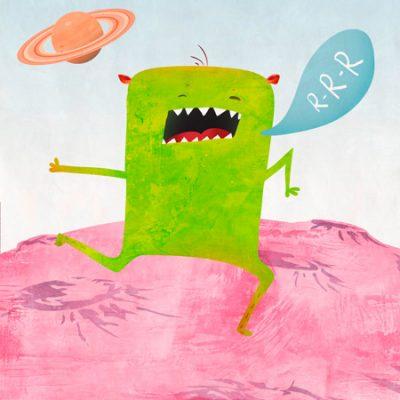 Skip Teller – Alien Friend #1