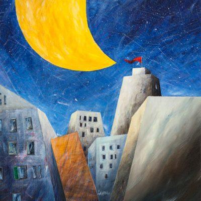 Donato Larotonda – Sotto una grande luna gialla