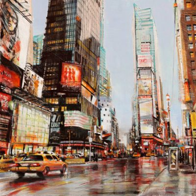 John B. Mannarini – Taxi in Times Square