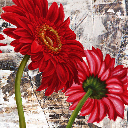 Jenny Thomlinson - Red Gerberas III