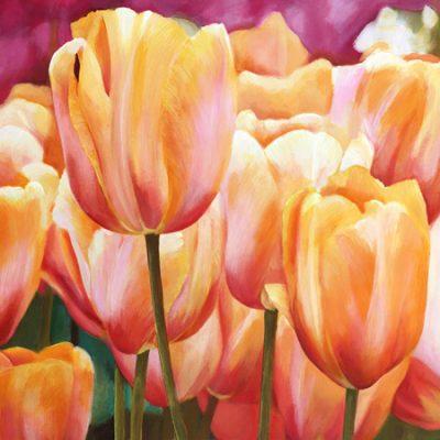 Luca Villa – Spring Tulips I
