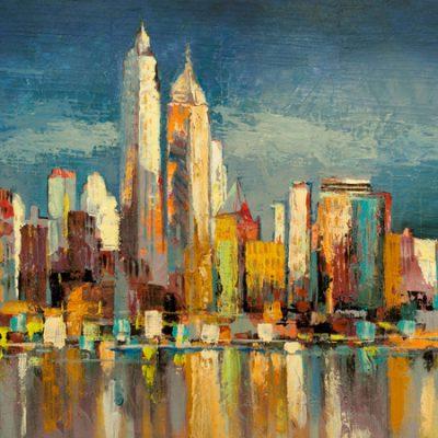 Luigi Florio – Manhattan Aqua (detail)