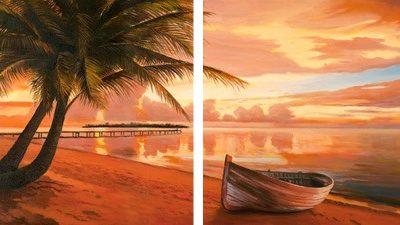 Adriano Galasso – Tramonto ai tropici – 2