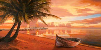 Adriano Galasso – Tramonto ai tropici