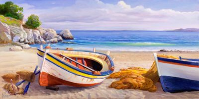 Adriano Galasso – Pomeriggio mediterraneo II