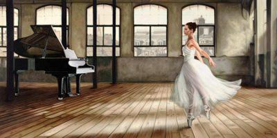 Pierre Benson – Dim light Ballerina