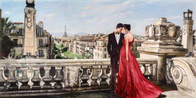 Pierre Benson – Lovers in Paris