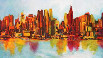 Claude Becaud – New York Abskyline