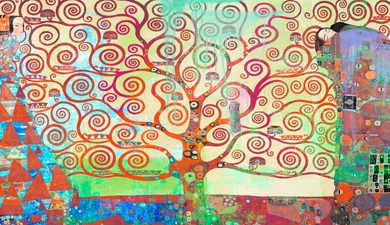 Eric Chestier - Klimt's Tree of Life 2.0