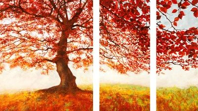 Jan Eelder – Red Leaves – 3