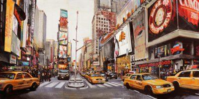 John B. Mannarini – Times Square Perspective