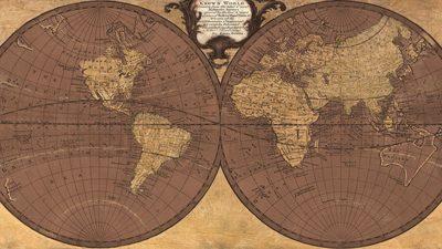 Joannoo – Gilded World Hemispheres II