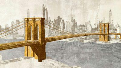 Joannoo – Gilded Brooklyn Bridge