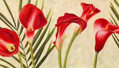 Jenny Thomlinson - Red Callas