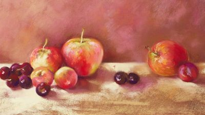 Nel Whatmore – Cherries and Apples (detail)