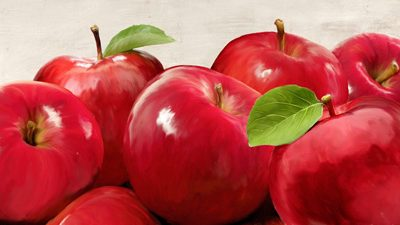 Remo Barbieri – Red Apples