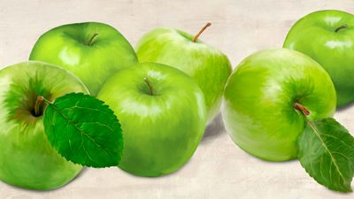 Remo Barbieri – Green Apples
