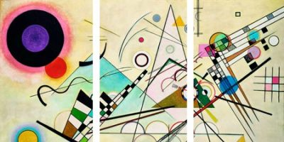 Wassily Kandinsky – Composition VIII (detail) – 3