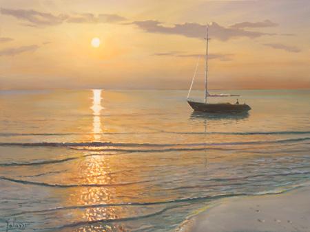 Adriano Galasso - Mattino sul mare