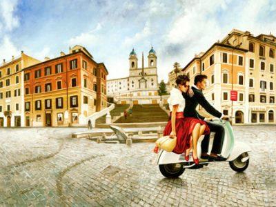 Pierre Benson – Lovers in Rome
