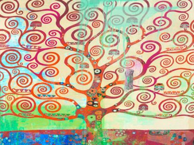 Eric Chestier – Klimt's Tree 2.0