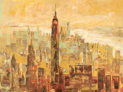 Luigi Florio – Tramonto su Manhattan