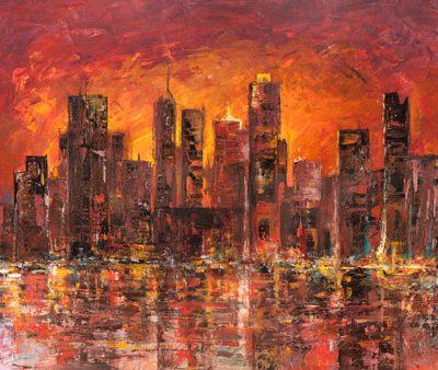 Luigi Florio – Sunset in New York