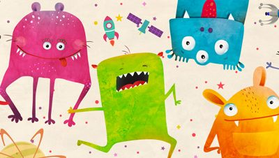 Skip Teller – Alien Friends
