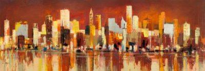 Luigi Florio – Manhattan al tramonto