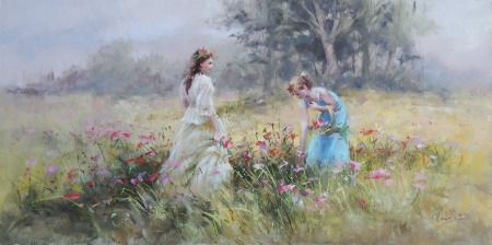 Καλύβας Γεώργιος - Μαζεύοντας λουλούδια