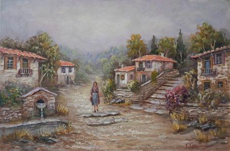 Γεωργαντάς Γεώργιος - Περίπατος στο χωριό