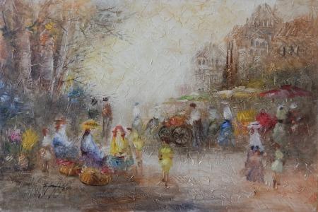 Μαρνέζου Σταματίνα - Η αγορά