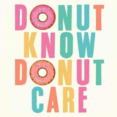 Z Studio – Donut Know Donut Care