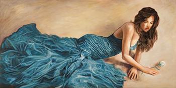 Andrea Bassetti – Donna in blu