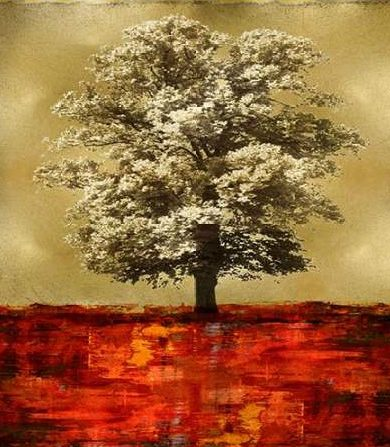 Turner Eric - Stately Red on Gold