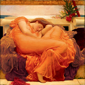 Frederic Leighton – Flaming June