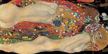 Gustav Klimt – Sea Serpents