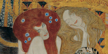 Gustav Klimt – Beethoven Frieze (detail)