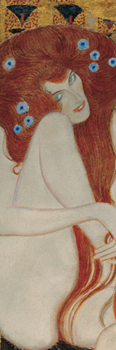 Gustav Klimt - Beethoven Frieze ΙΙ (detail)