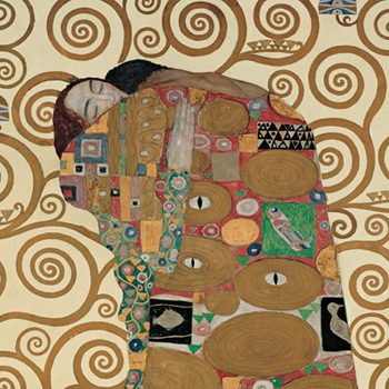 Gustav Klimt – Fulfillment (detail)