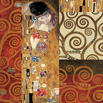 Gustav Klimt – Klimt Details (The Kiss)
