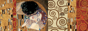 Gustav Klimt - Klimt Deco (The Kiss)